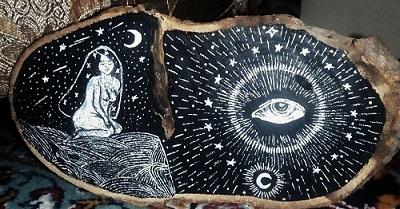 تابلو-نقاشی-چوب