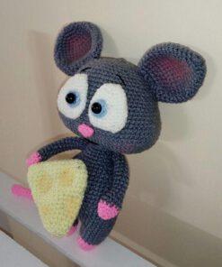 عروسک_بافتنی_موش