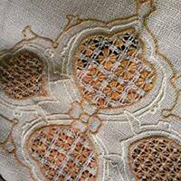 شبکه دوزی صنایع دستی سنتی