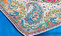 ترمه بافی صنایع دستی سنتی