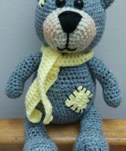 عروسک خرس بافتنی