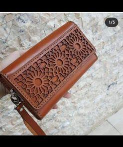 کیف مدارک و پول چرمی